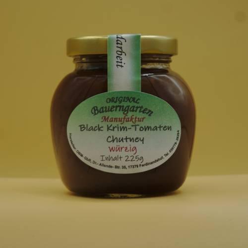 Black Krim Tomaten Chutney