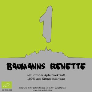 Apfelsaft 'Baumanns Renette'